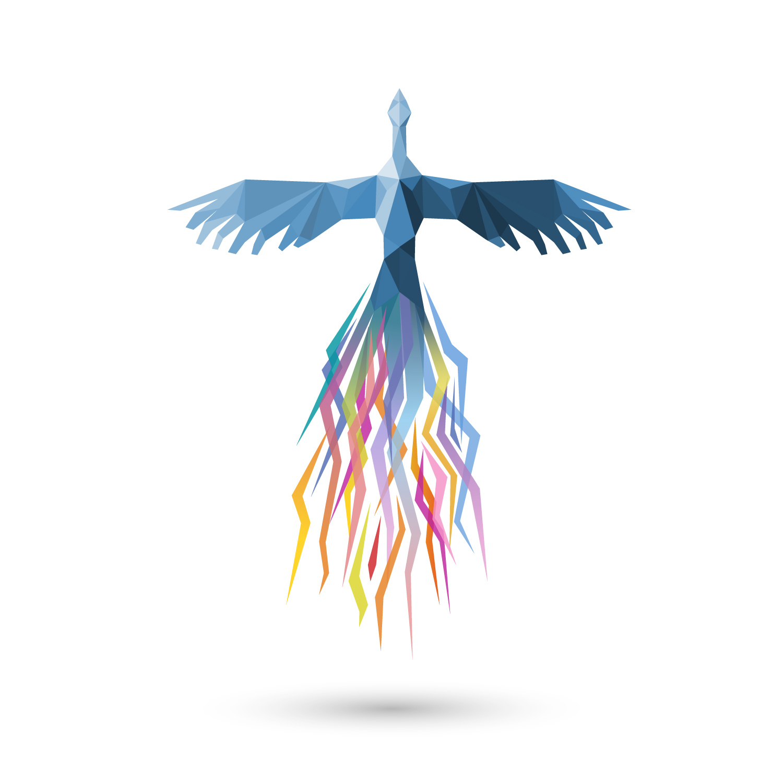 Bird rising